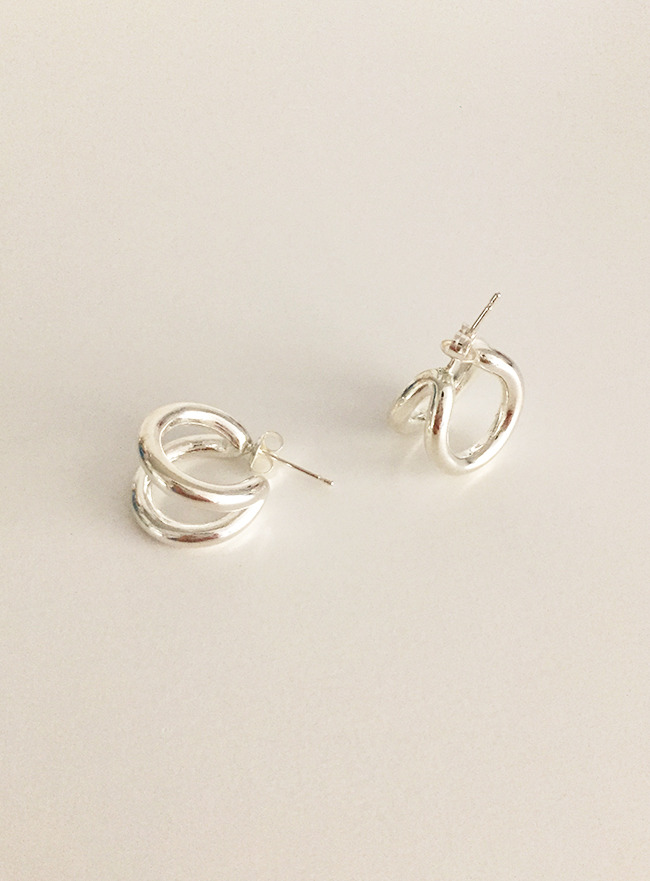(Silver 925) two earring