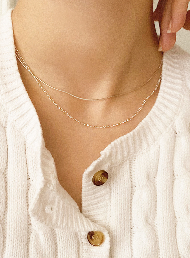 (Silver 925) better necklace (2 colors)
