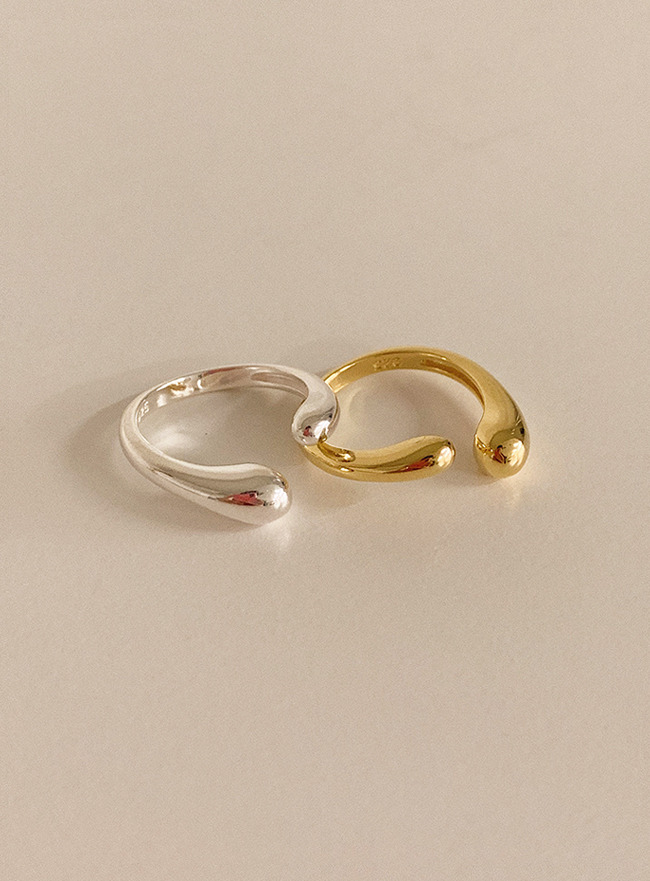 (Silver 925) balanced ring (2 colors)