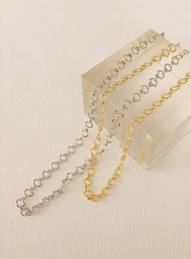 snowflake necklace (2 colors) (Allergy free)