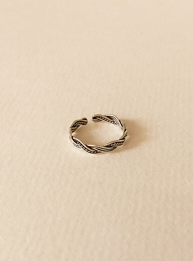(Silver 925) moire ring