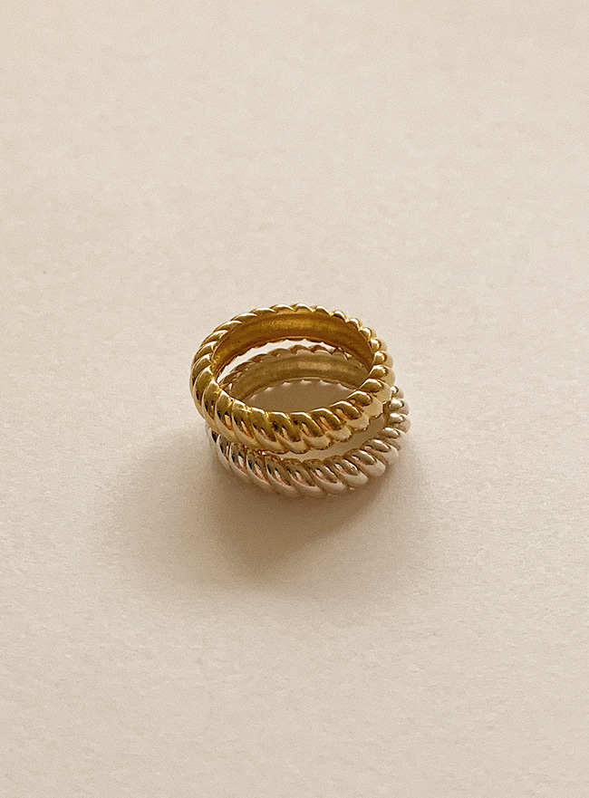 (Silver 925) bread ring (4 sizes)