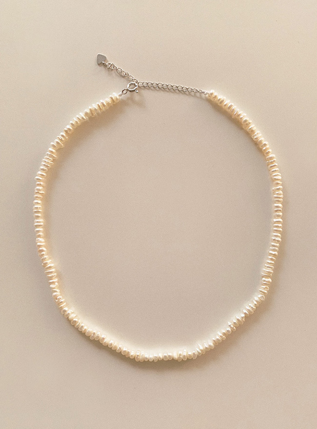 (Silver 925) fresh water pearl necklace