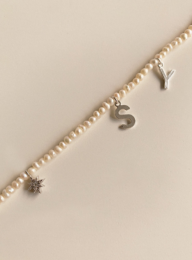 [D.SEO] (Silver 925) deep is your cosmos necklace