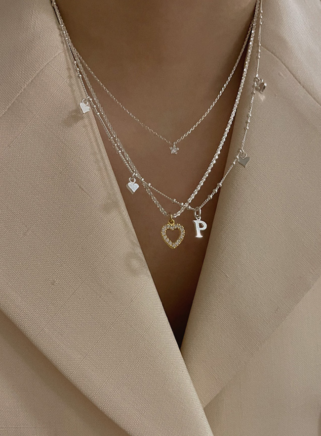 [D.SEO] (Silver 925) deep is your more love necklace