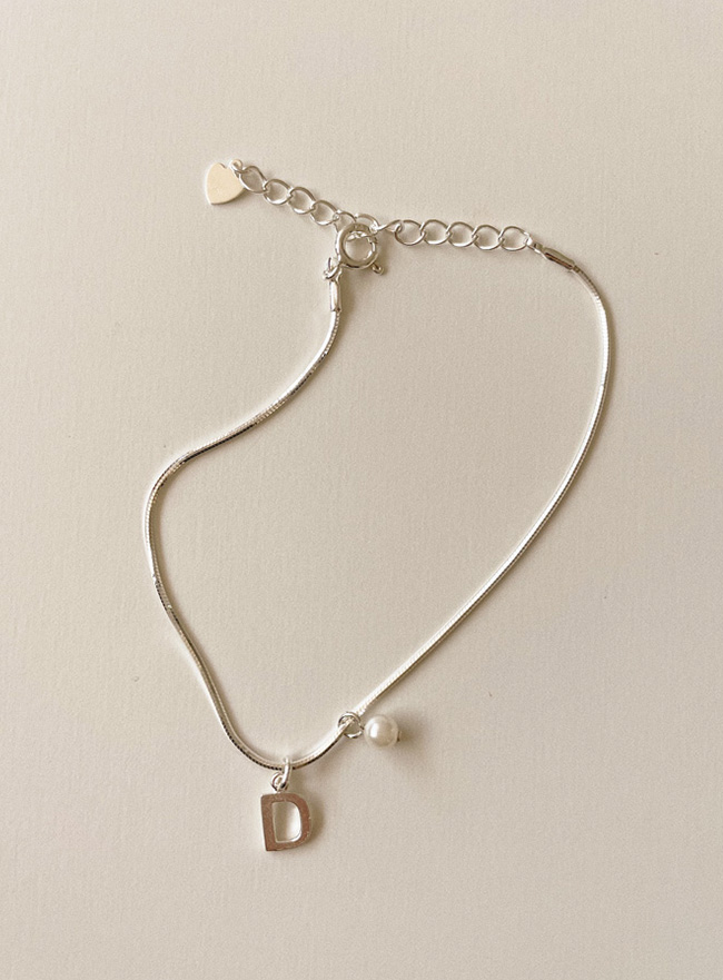 (Silver 925) deep is your bubble bracelet