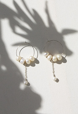 [DEEP] 2016 The sea earring (Silver)