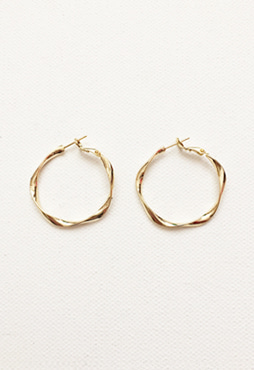 [EVENT] twist earring 2 (2 colors) (Allergy free)