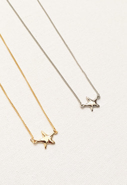 starfish necklace (2 colors) (Allergy free)
