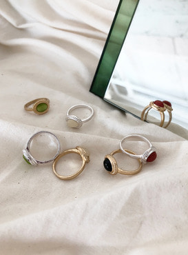 antique ring (7 colors) (Allergy free)