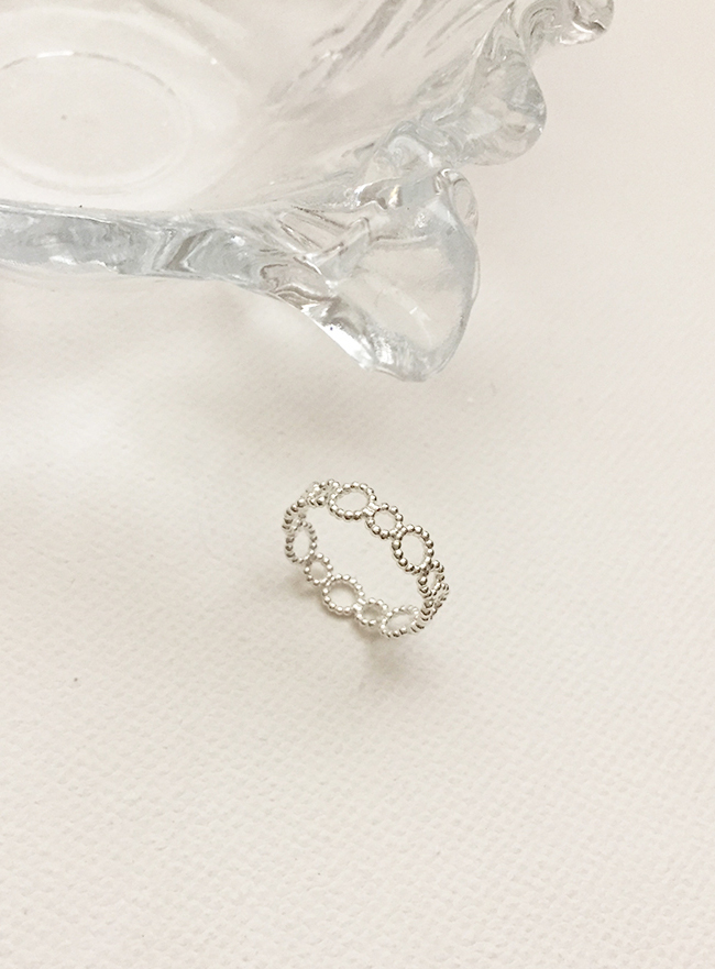 (Silver 925) lace ring  (4 sizes)