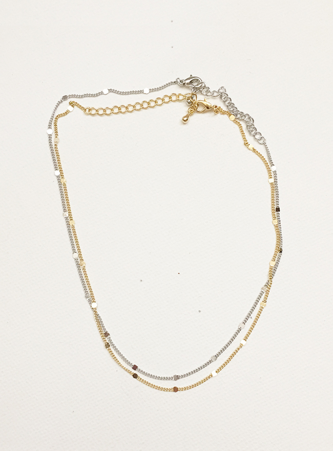 simple necklace (2 colors)