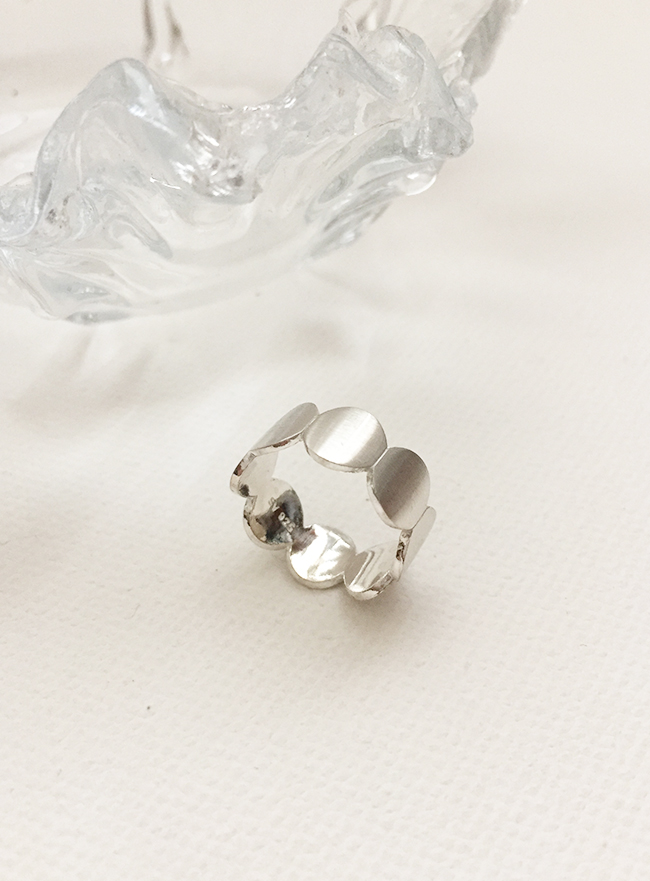 (Silver 925) cloud ring  (4 sizes)