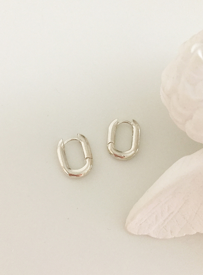 (Silver 925) commode earring