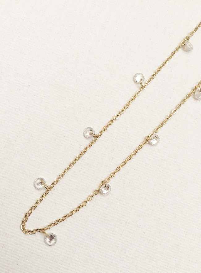 [4차 재입고] starlit necklace (2 colors) (Allergy free)