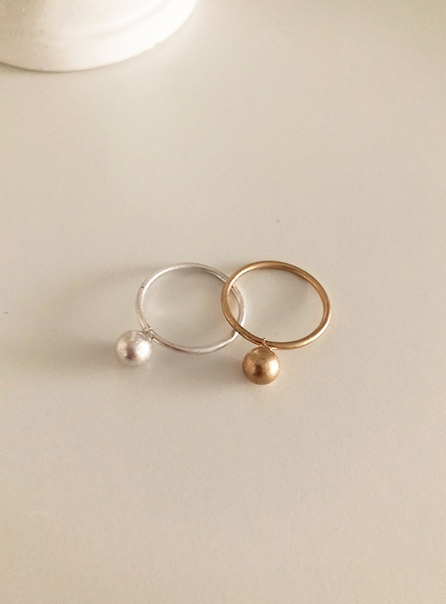 ball ring (10호, 2 colors) (Allergy free)