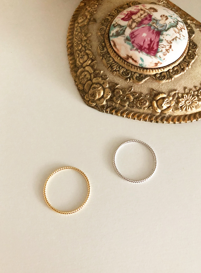 rely ring (10호, 2 colors) (Allergy free)
