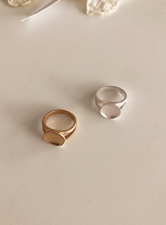 stamp ring (2 colors) (13호, Allergy free)