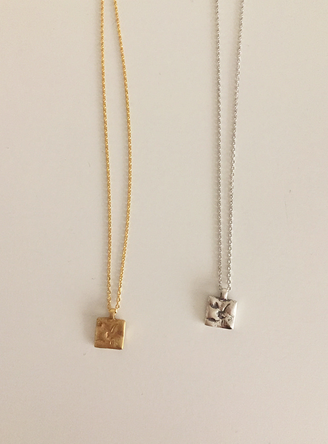 (Silver 925 & 18k Gold plating) small necklace