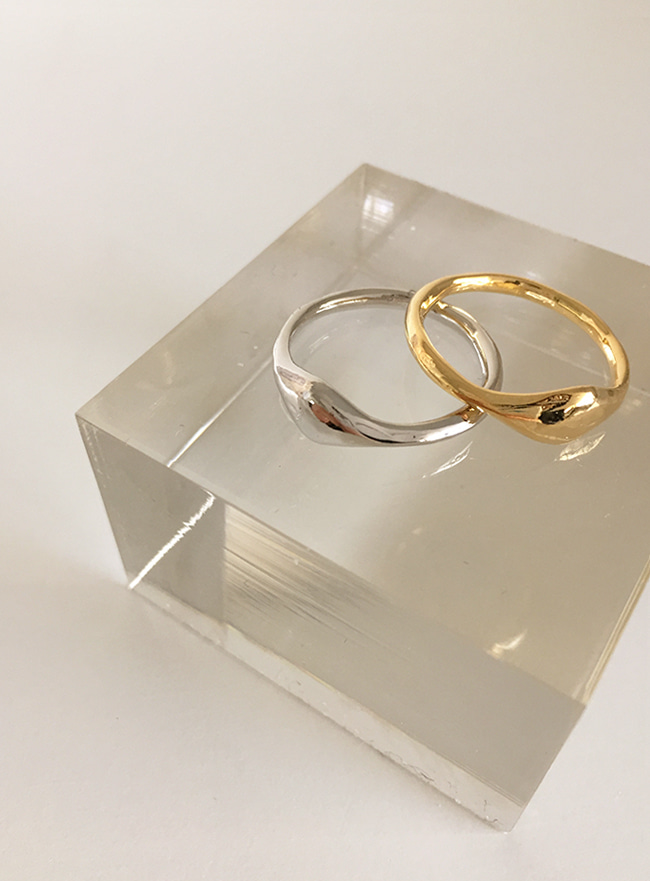 moment ring (15호, 2 colors) (Allergy free)