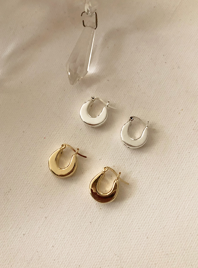 (Silver 925 & 16k Gold plating) you earring