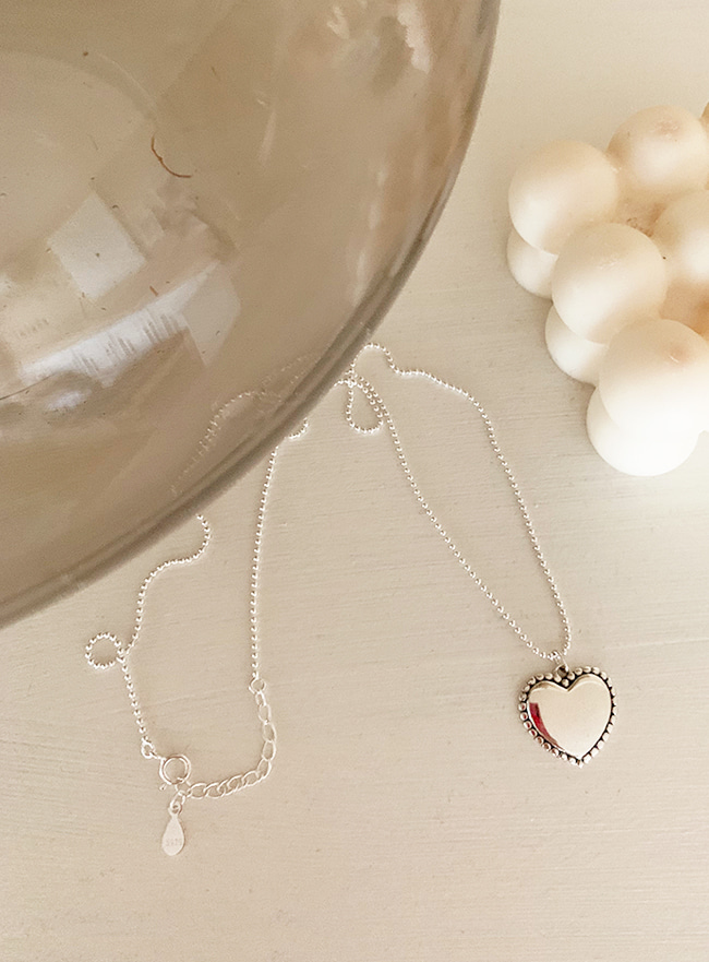 (Silver 925 & 16k Gold plating) dear love necklace