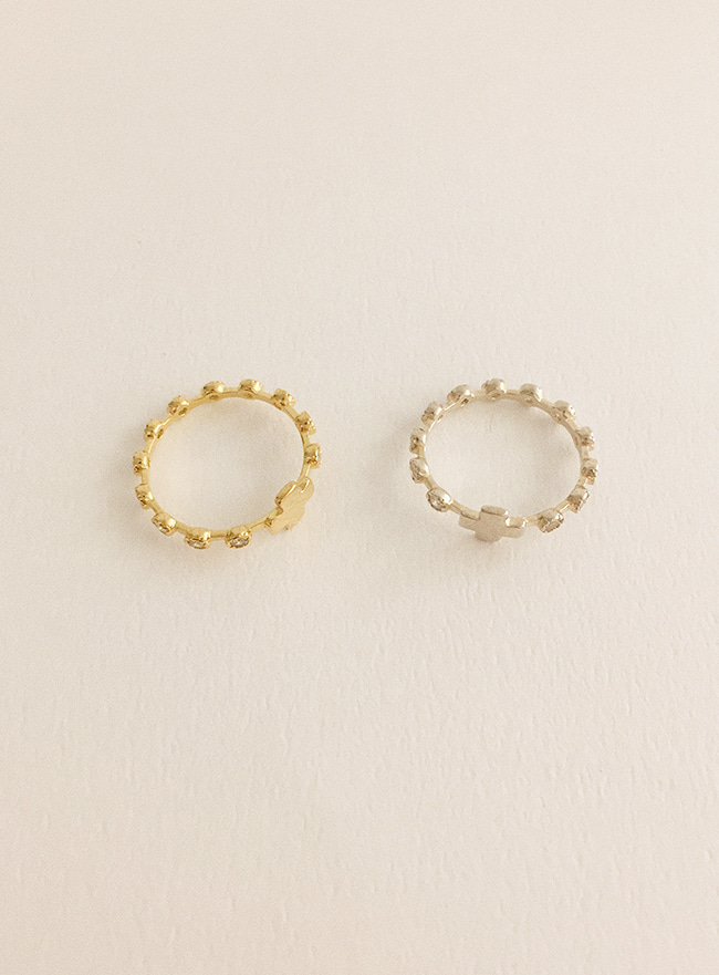 (Silver 925) plus ring (2 colors) (2 sizes)