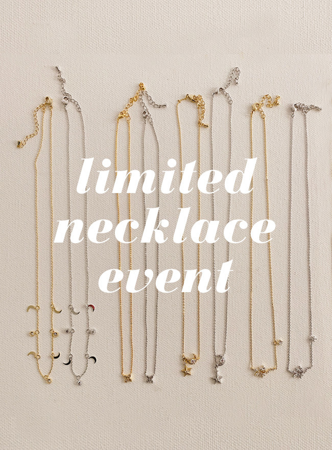 necklace event (1~16) (한정수량)